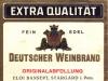 etykieta - Deutscher Weinbrand