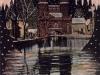 kanał młyński i Brama Młyńska od strony miasta