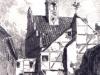 zaułek przy Bramie Wałowej