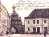 Brama Wałowa i początek ulicy Szewskiej
