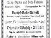 inserat firmy Bumcke z 1911 roku