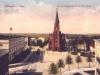 kościół Św. Ducha, widok na plac (1910 r.)