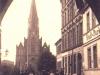 widok przez Bramę Pyrzycką na kościół Św. Ducha (1907 r.)