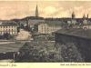 dworzec kolejowy, tory - widok na miasto