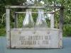 metalowa skrzynka na butelki
