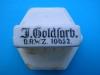 przykrywka puszki po tytoniu Goldfarb