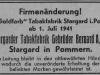 inserat z roku 1941