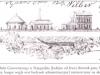 widok gazowni przy ul. Okrzei na akcji z 1858 r.