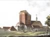 Kościół Świętego Jana w końcu XVIII wieku