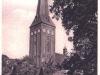 Kościół Świętego Jana i ogródek przy domku szwajcarskim