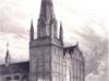 kolegiata z rynkiem - projekt wieży z 1840 r.