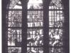 witraż - budowa kościoła, dar fundacji pastorów Synodu Stargardzkiego