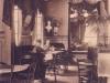 wnętrze cukierni Langhoffa około 1920 roku