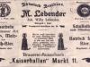 inserat z roku 1904
