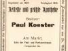 inserat z roku 1913