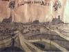 panorama Stargardu na przełomie XVII i XVIII wieku