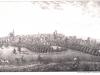 panorama Stargardu około 1831 roku