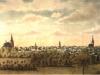 panorama Stargardu w końcu XIX wieku