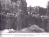 wojna, Plac Wolności - pogrzeb płk. Gacuka