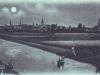 rzeka Ina, widok na miasto od południa