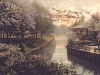 rzeka Ina - okolice Baszty Jeńców