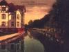 rzeka Ina. dom dyrektora muzeum