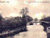 widok na Inę z mostu za Bramą Wałową