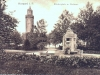 Baszta Tkaczy, park z pomnikiem Blüchera